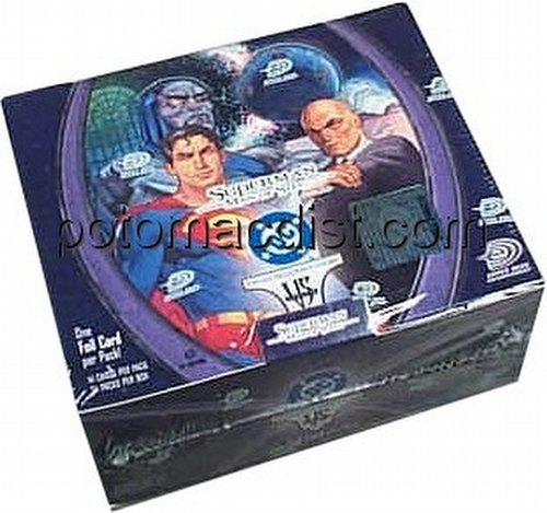 DC VS: Superman Man of Steel Booster Box [1st Edition]