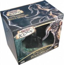 Dungeons & Dragons [D&D] Miniatures: Gargantuan Black Dragon