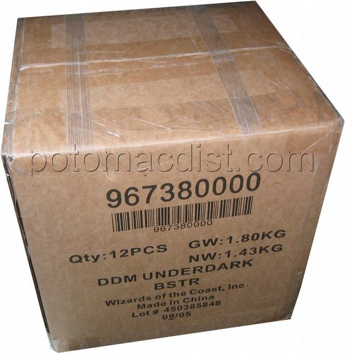 Dungeons & Dragons [D&D] Miniatures: Underdark Booster Case [12 packs]