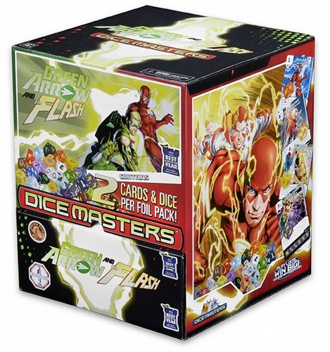 DC Dice Masters: Green Arrow and the Flash Dice Building Game Gravity Feed Box