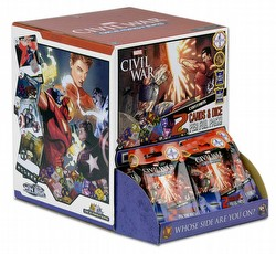 Marvel Dice Masters: Civil War Dice Building Game Gravity Feed Box