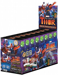 Marvel Dice Masters: The Mighty Thor Dice Building Game Countertop Draft Pack Box