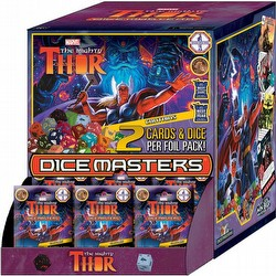 Marvel Dice Masters: The Mighty Thor Dice Building Game Gravity Feed Box