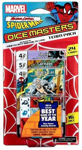 Marvel Dice Masters: Spider-Man Maximum Carnage Dice Building Game Team Pack
