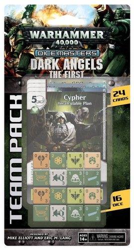 Warhammer 40,000 Dice Masters: Dark Angels - The First Team Pack