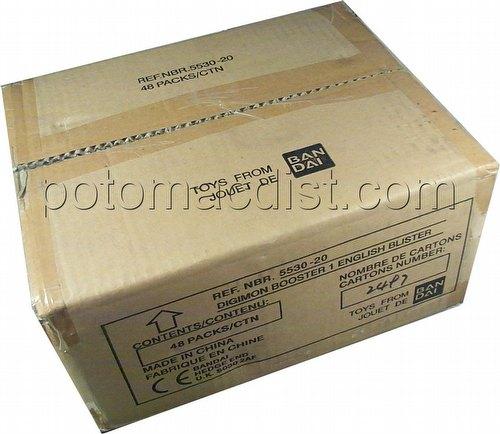 Digimon Digi-Battle Card Game: Series 1 Blister Pack Booster Box [48 packs]
