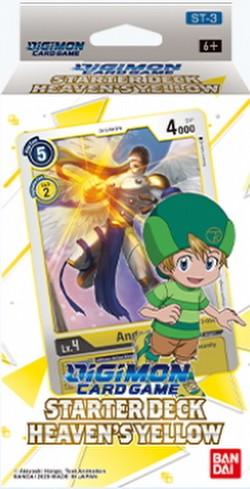 Digimon Card Game: Heavens Yellow Starter Deck