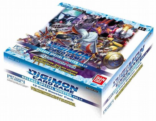 Digimon Card Game: V1.0 Booster Box