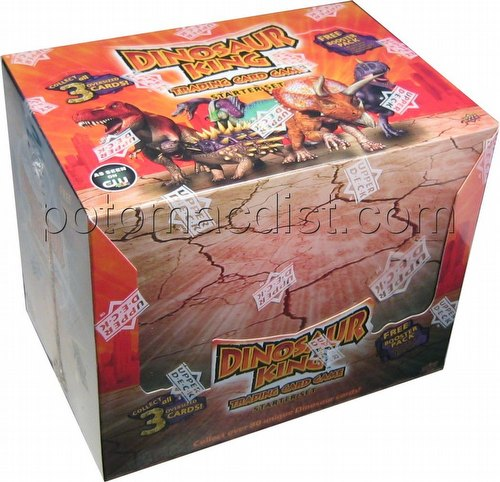 Dinosaur King TCG: Base Set Starter Deck Box