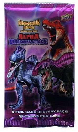 Dinosaur King TCG: Alpha Dinosaurs Attack (Series 3) Booster [2 Packs]