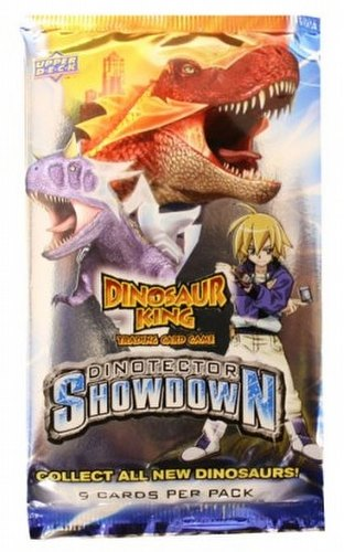 Dinosaur King TCG: Dinotector Showdown (Series 5) Booster Pack