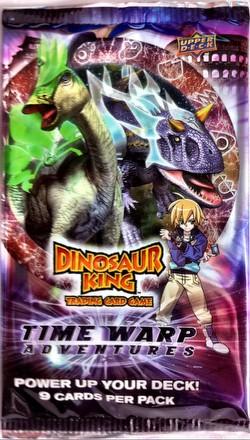 Dinosaur King TCG: Time Warp Adventures (Series 6) Booster Pack