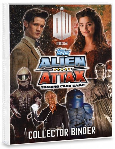 Doctor Who Alien Attax Trading Card Game: Starter Pack