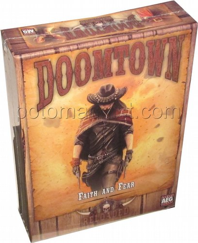 Doomtown: Reloaded Faith and Fear Pinebox Expansion Box