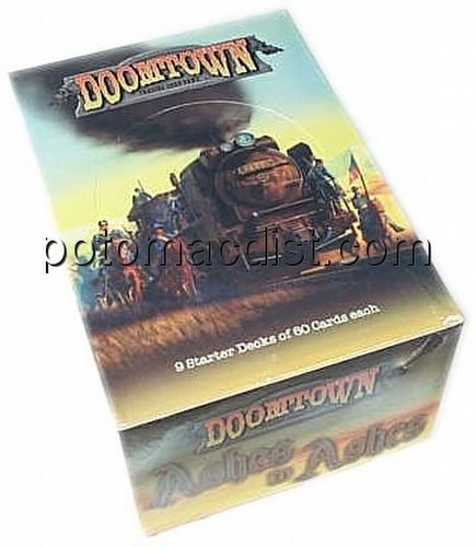 Doomtown: Ashes to Ashes Starter Deck Box