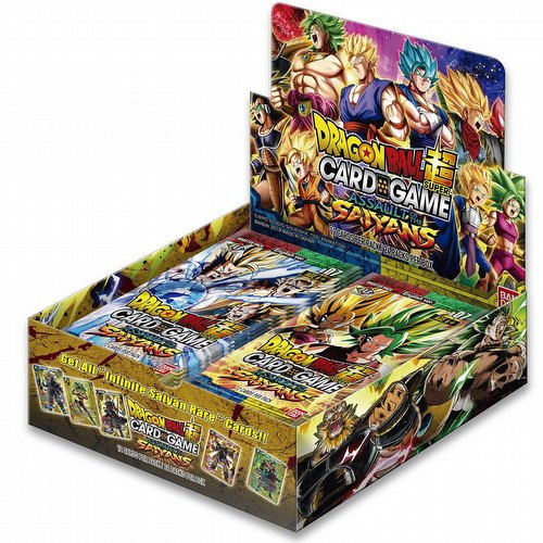 Dragon Ball Super Card Game Assault of the Saiyans (Series 7) Booster Box [DBS-B07]