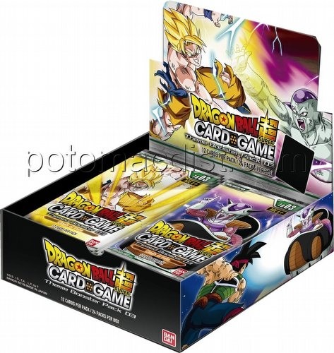 Dragon Ball Super Card Game Clash of Fates (Themed 3) Booster Box