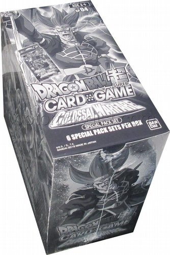 Dragon Ball Super Card Game Colossal Warfare (Series 4) Special Pack Box
