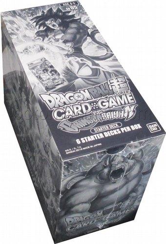 Dragon Ball Super Card Game Crimson Saiyan Starter Deck Box