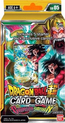 Dragon Ball Super Card Game Crimson Saiyan Starter Deck