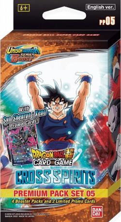Dragon Ball Super Card Game Cross Spirits (Unison Warrior Series 5) Premium Pack Set