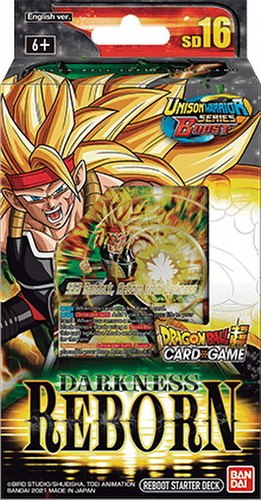 Dragon Ball Super Card Game Darkness Reborn Starter Deck #16 [DBS-SD16]