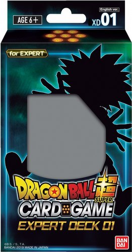 Dragon Ball Super Card Game Series 7 Expert Starter Deck Box