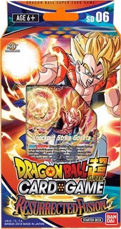 Dragon Ball Super Card Game Resurrected Fusion Starter Deck [DBS-SD06]