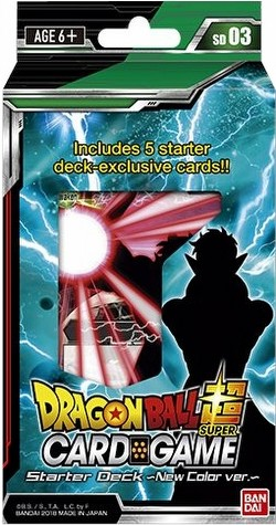 Dragon Ball Super Trading Card Game Dark Invasion Starter Deck Box