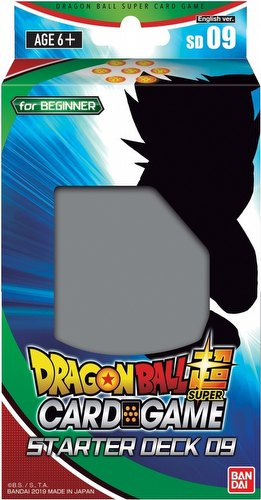 Dragon Ball Super Card Game Series 7 Deck #9 Starter Deck [DBS-SD09]