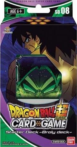 Dragon Ball Super Card Game Rising Broly (Deck #8) Starter Deck [DBS-SD08]