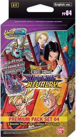 Dragon Ball Super Card Game Supreme Rivalry (Unison Warrior Series 4) Premium Pack Set