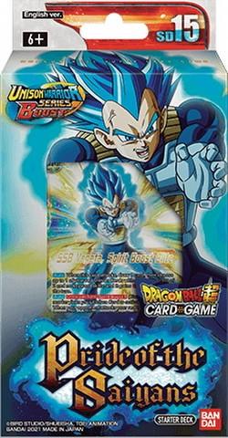 Dragon Ball Super Card Game Pride of the Saiyans Starter Deck #15 [DBS-SD15]