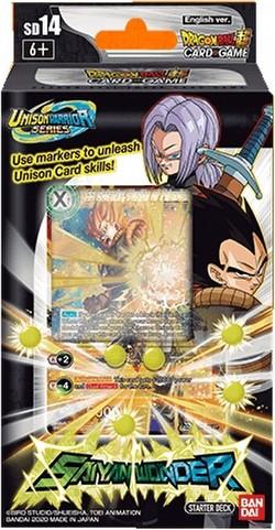 Dragon Ball Super Card Game Unison Warrior Saiyan Wonder Starter Deck