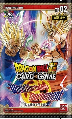 Dragon Ball Super Card Game World Martial Arts Tournament (Themed 2) Booster Pack [DBS-TB02]