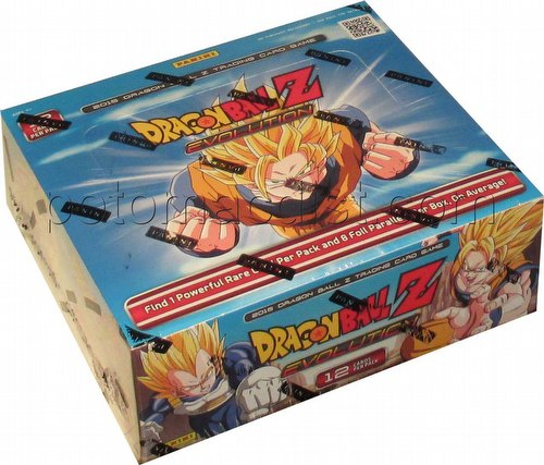 Dragon Ball Z Trading Card Game Evolution Booster Box [Panini]