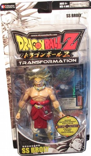 Dragonball Z Transformation SS Broly Figure