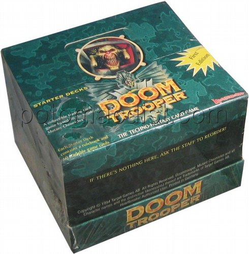 Doomtrooper CCG: Starter Deck Box [First Edition/Limited]