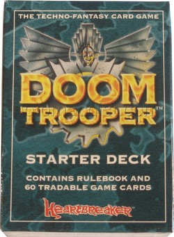 Doomtrooper CCG: Starter Deck [Unlimited Edition]