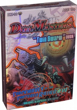 Duel Masters Trading Card Game [TCG]: Shockwaves of the Shattered Rainbow Twin Swarm Theme Deck