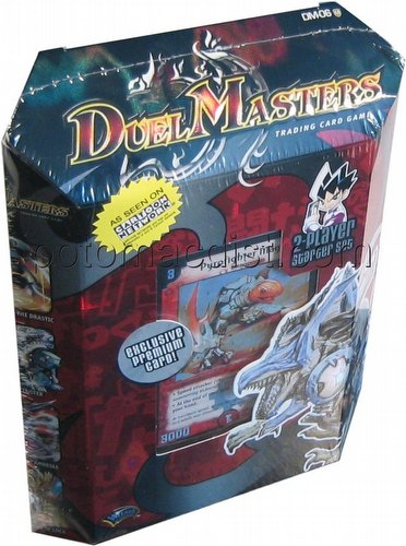 Duel Masters Trading Card Game [TCG]: Stomp-A-Trons of Invincible Wrath 2-Player Starter Set