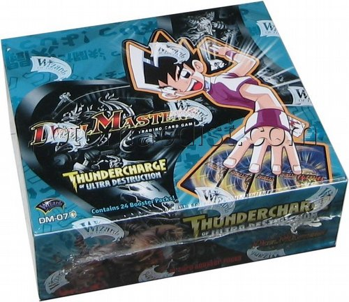 Duel Masters Trading Card Game [TCG]: Thundercharge of Ultra Destruction Booster Box