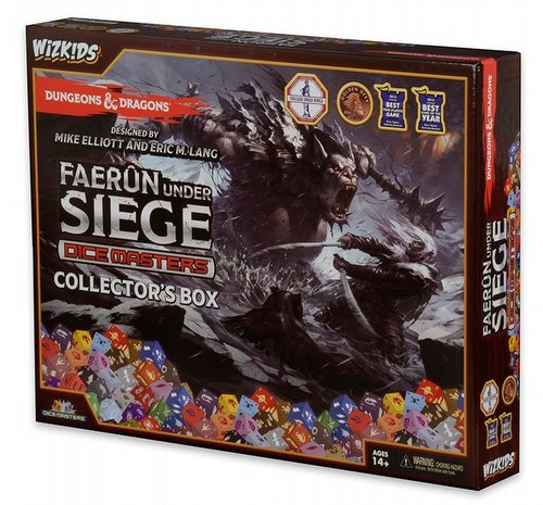 Dungeons & Dragons Dice Masters: Faerun Under Siege Dice Building Game Collector