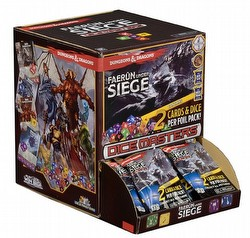 Dungeons & Dragons Dice Masters: Faerun Under Siege Dice Building Game Gravity Feed Box