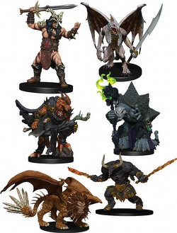 D&D Miniatures: Icons/Realms Descent into Avernus - Arkhan the Cruel and the Dark Order Figure Pack