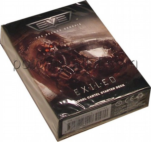 EVE Second (2nd) Genesis Collectible Card Game [CCG]: The Exiled Angel Cartel Starter Deck