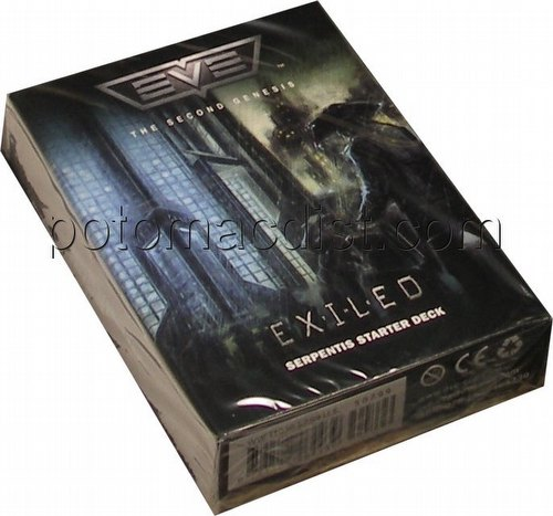 EVE Second (2nd) Genesis Collectible Card Game [CCG]: The Exiled Serpentis Starter Deck