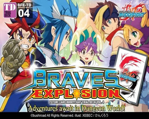 Future Card Buddyfight: Braves Explosion Trial Deck (Starter Deck) Box