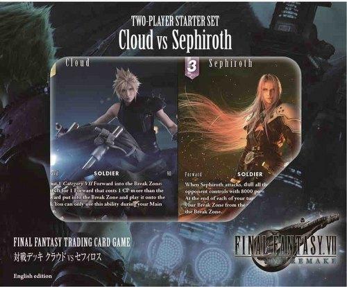Final Fantasy: Cloud Vs Sephiroth 2-Player Starter Set [English Edition]