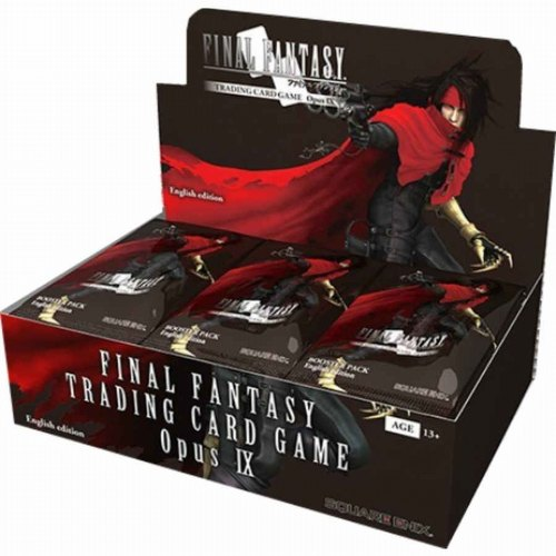 Final Fantasy: Opus IX (Opus 9) Collection Booster Half Case [6 boxes]